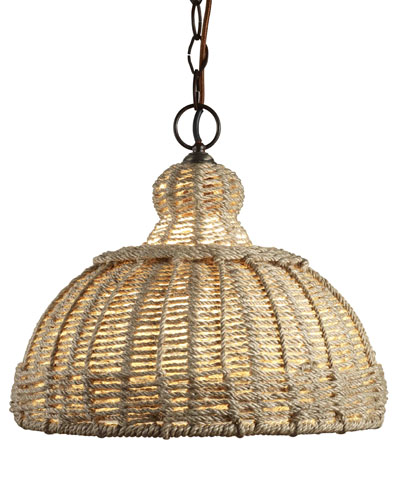 More from Bliss Home and Designs! This is the UPDAIPUR PENDANT JUTE for $463