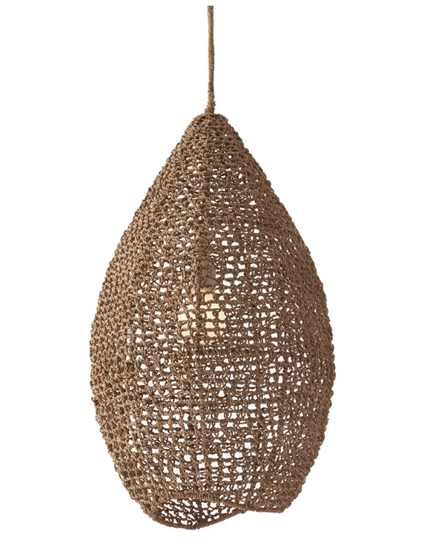 This is the Beehive Woven Pendant from Belle Escape for $845
