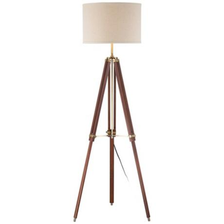The Tripod Floor Lamp from Lampsplus for only $149!
