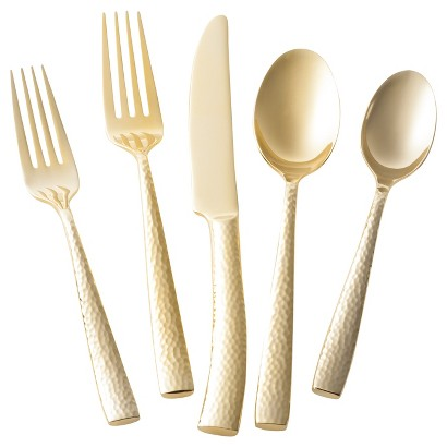 For a more budget friendly option there is the Threshold 5 Piece Arkita place setting from Target for $19.99