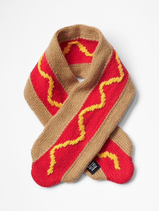 LOVE! The Hotdog Scarf for $24.95!