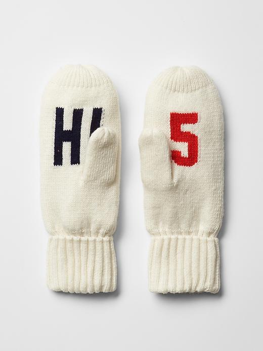 These Hi5 Graphic Mittens are too cute for only $24.95