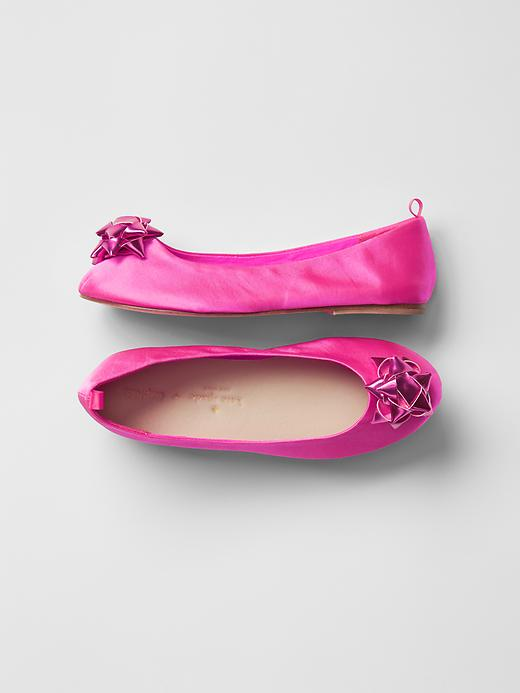 The Girls Gift Bow Ballet Flat for $59.95 (also available in red! but the pink is definitely my favorite!)